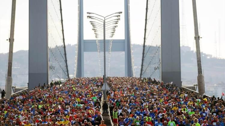 ماراثون جسر البوسفور