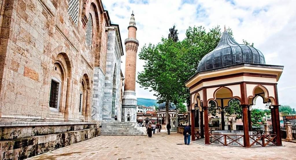 الجامع الكبير في مدينة بورصة