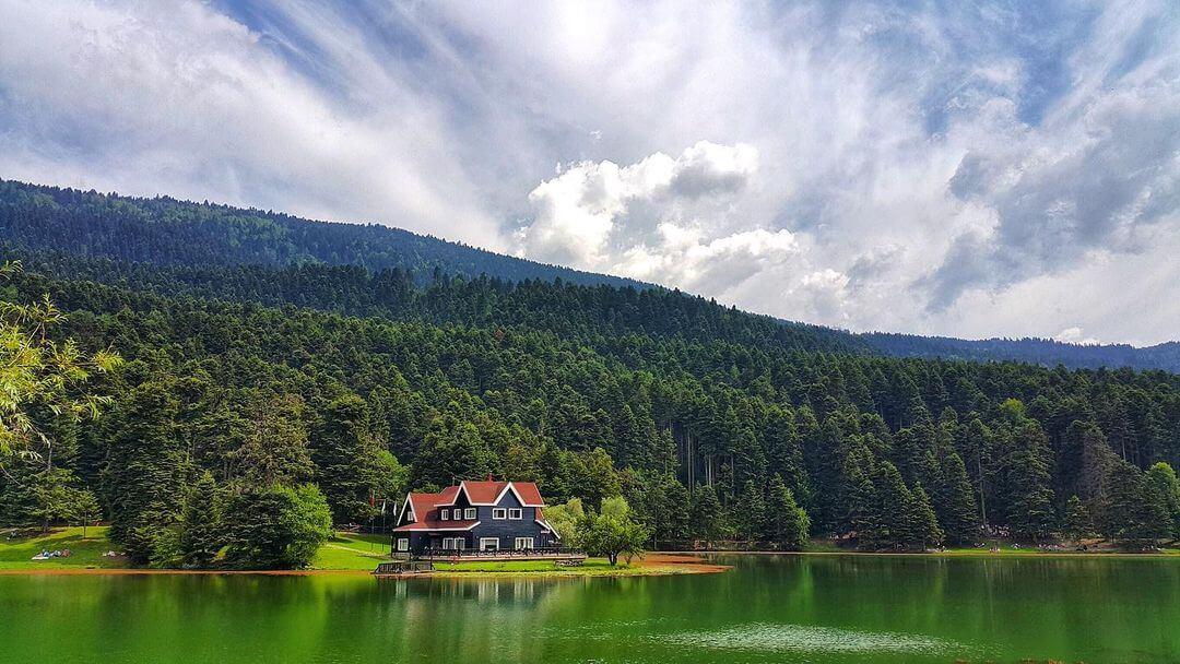 بحيرة أبانت تركيا